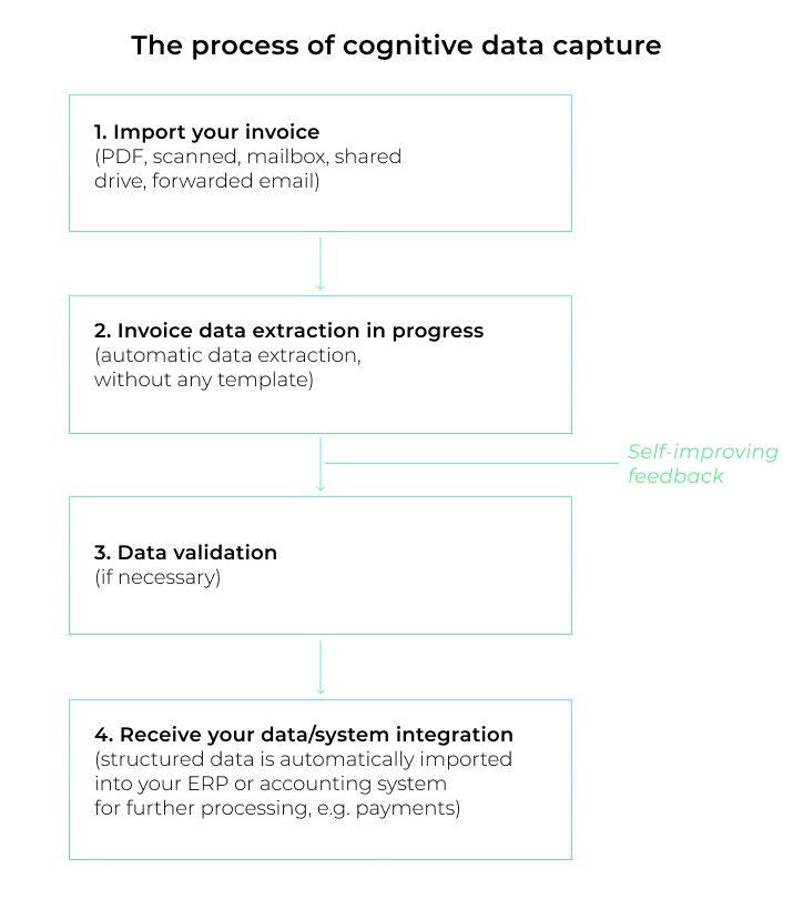 Cognitive data capture process
