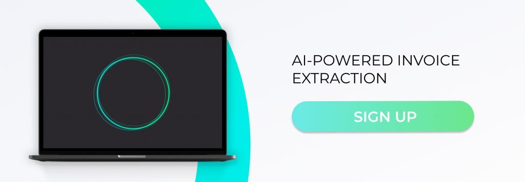 Sign up for AI-powered invoice extraction