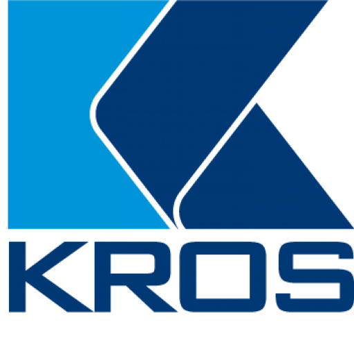 Kros logo colorful, no background
