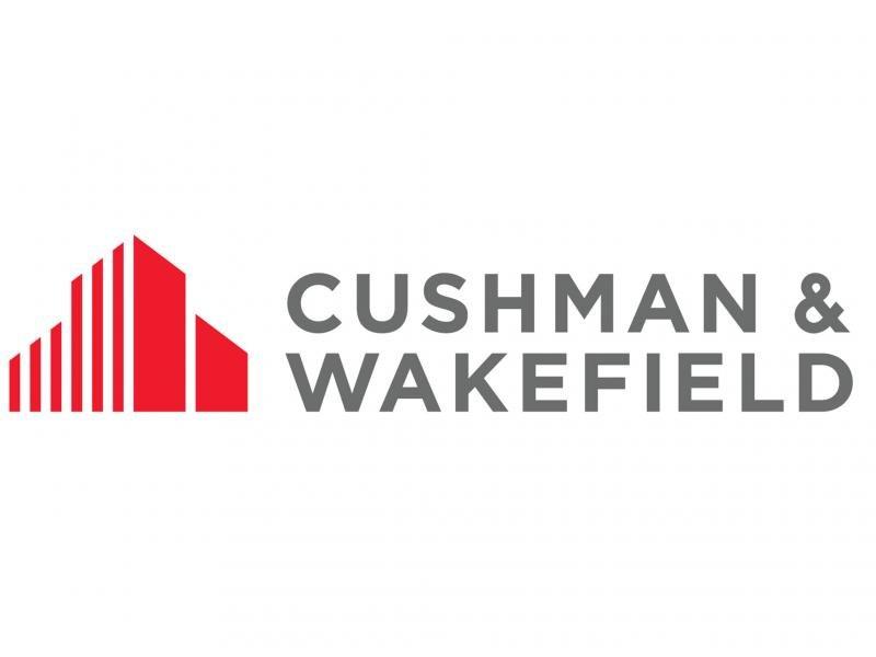 Cushman & Wakefield logo white background