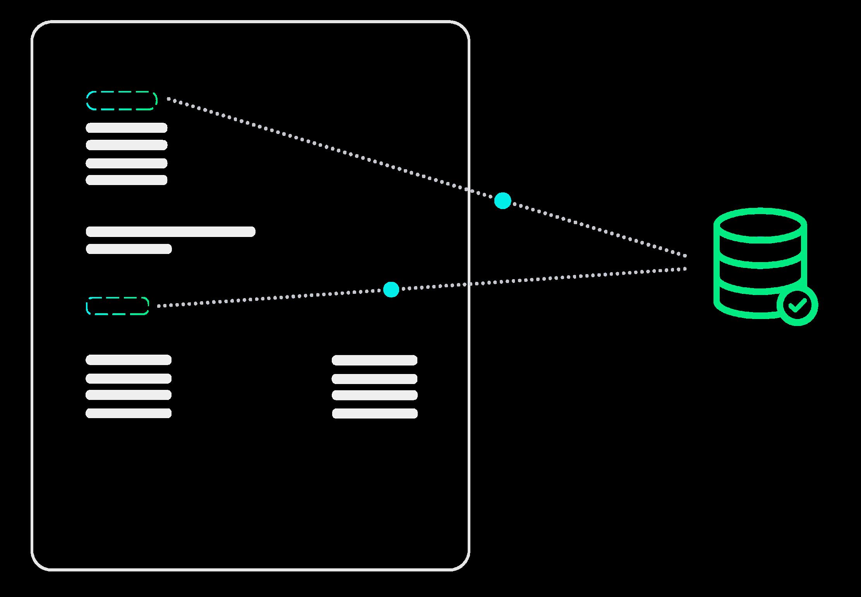 Data matching Rossum